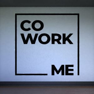 Co-Work Wall Decal