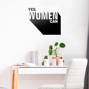 Women Can Wall Decal