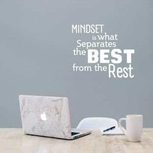 Mindset it what Wall Decal