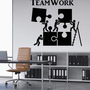 Teamwork Office Wall Decal