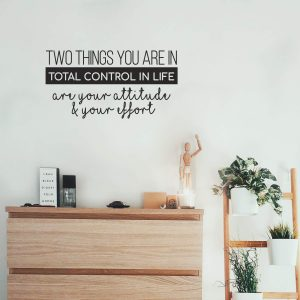 Attitude & Effort Wall Decal