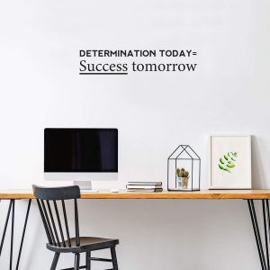 Determination Today Wall Decal