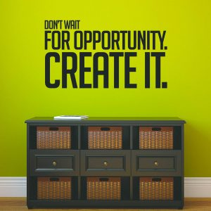 Create Opportunity Wall Decal