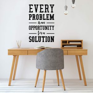 Opportunity for a Solution Wall Decal