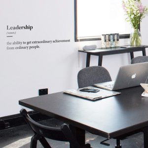 Leadership Wall Decal