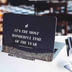Most Wonderful Time Laptop Skin