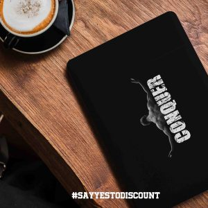 Conquer Motivational Laptop Skin