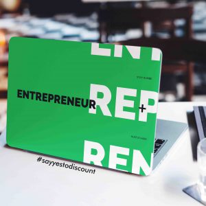 Entrepreneur Laptop Skin