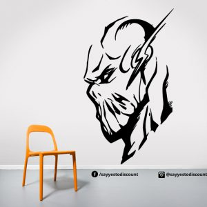 Flash Venom Wall Decal