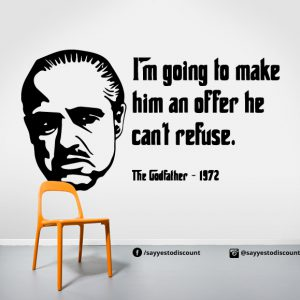 Godfather Offer Wall Decal