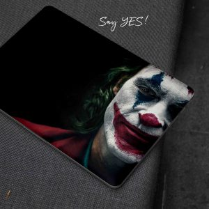 Joker Face Laptop Skin