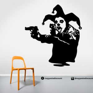 Joker Funny Wall Decal