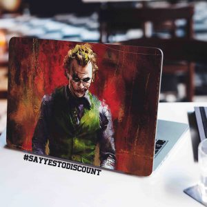 Joker Grunge Laptop Skin