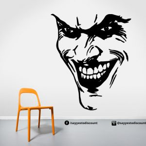Joker Face Wall Decal