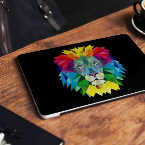 Lion Abstract Laptop Skin