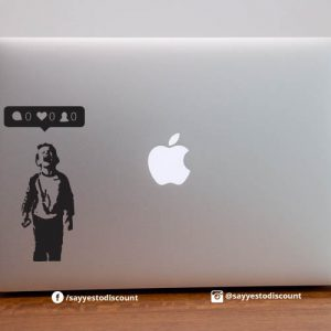Lonely Laptop Decal