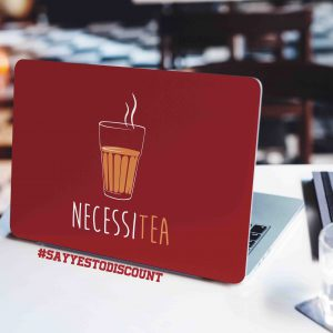 Necessi Tea Laptop Skin