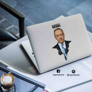 House of Cards Underwood Laptop Skin