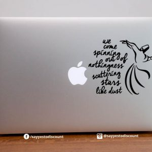 We Come spinning out of Laptop Decal