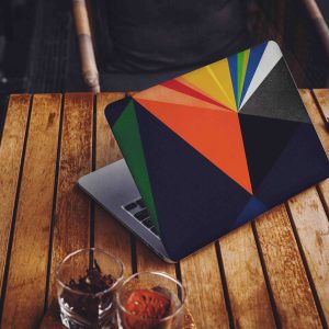 Abstract Color Laptop Skin
