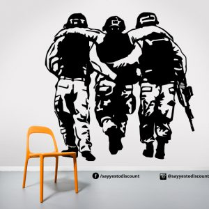 Army Soldier Wall Decal