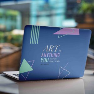 Art is Anything Laptop Skin