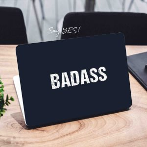 Badass Laptop Skin