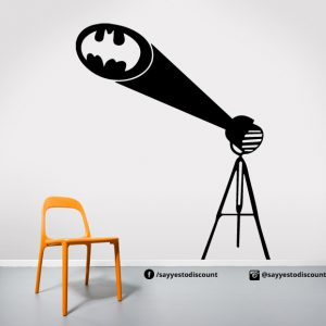 Batman logo Light Wall Decal