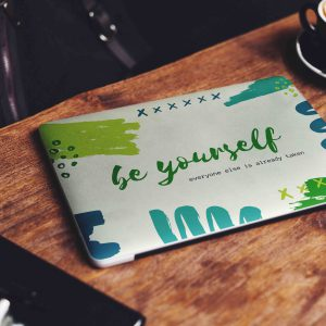 Be Yourself Laptop Skin