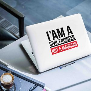 Civil Engineer Laptop Skin