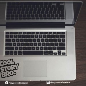 Cool Story Bro Laptop Decal