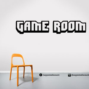 Game Room Wall Decal