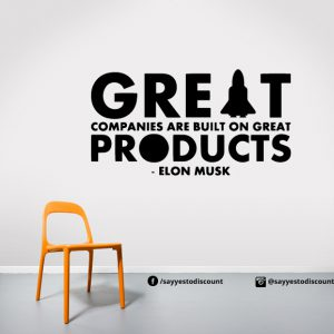 great companies Wall Decal