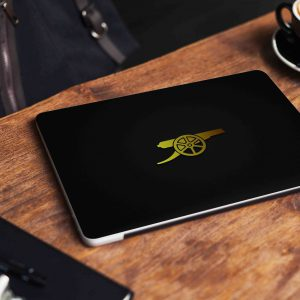 Arsenal Gunner Minimalist Laptop Skin