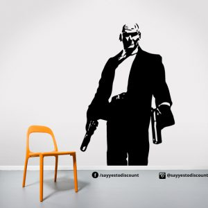 Hitman Wall Decal