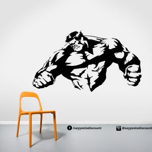 Hulk Fighting Wall Decal