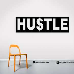 Hustle Wall Decal