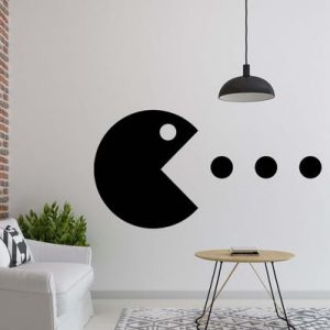 Pacman Wall Decal