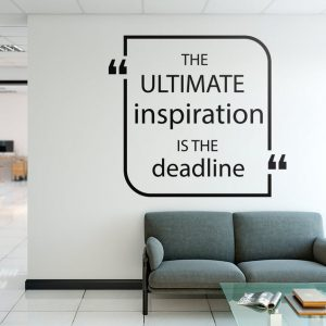 Ultimate Inspiration Office Wall Decal