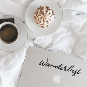 Wanderlust Laptop Decal