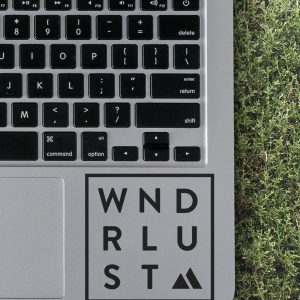 Wndrlust Laptop Decal