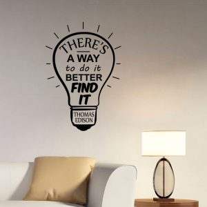 There is a Way Bulb Office Wall Decal