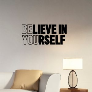 Be You Motivational Wall Decal