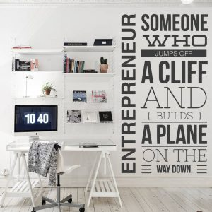 Entrepreneur Wall Decal