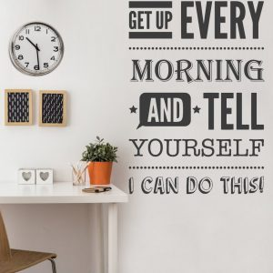 You can Do it Motivational Wall Decal