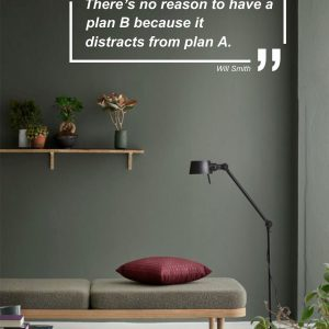 No Plan B Office Wall Decal