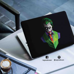 Joker Polygonal Laptop Skin