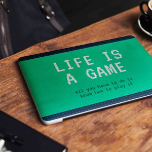 Life is a Game Laptop Skin
