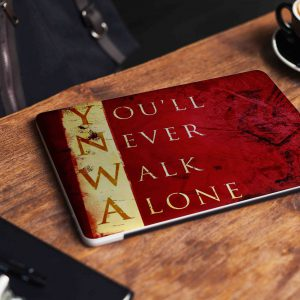 Never Walk Alone Liverpool Laptop Skin