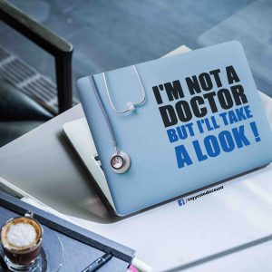 Not A Doctor Laptop Skin